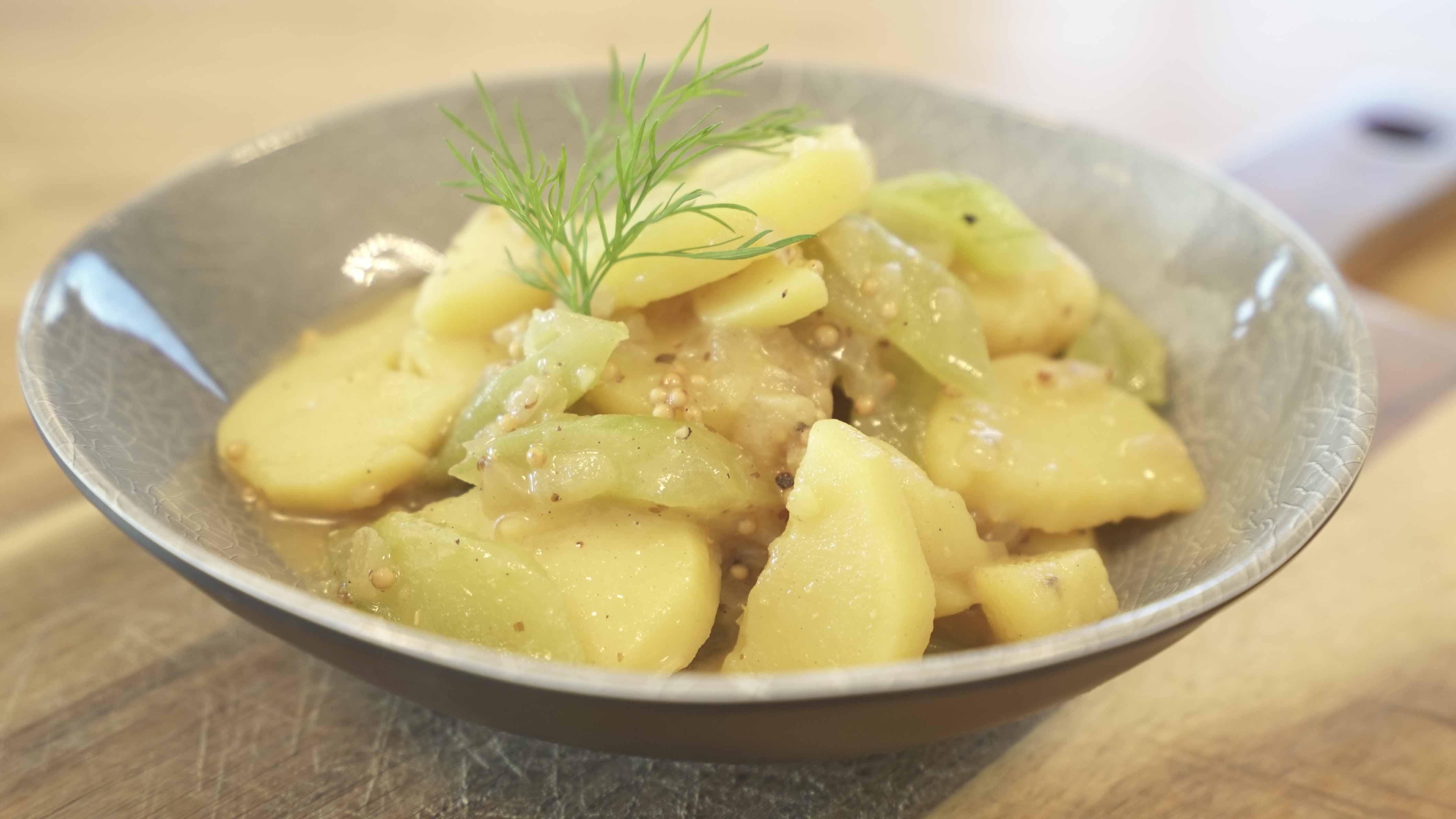 Kartoffel- Gurkensalat - handmade