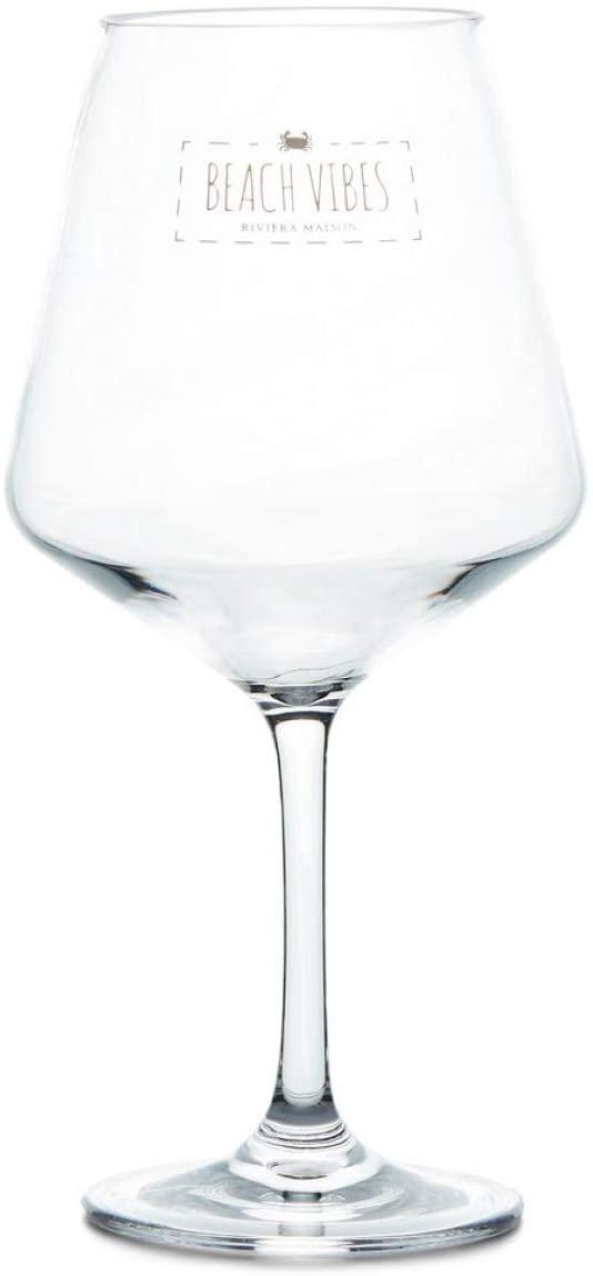 Beach Vibes Wine Glass